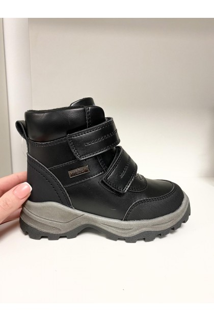 Children's Black Snow Boots
