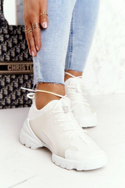 Women's White Sport Shoes