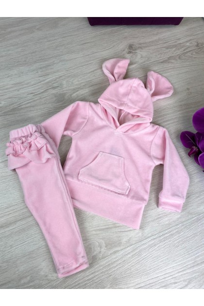 Children's Pink Sports Suit