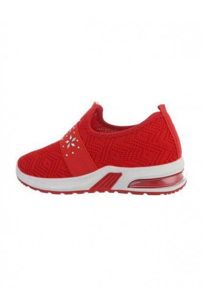 Children's Red Sport Shoes