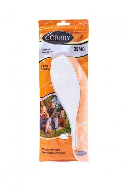 Corbby Fresh Day All-year Inserts 3 Pair