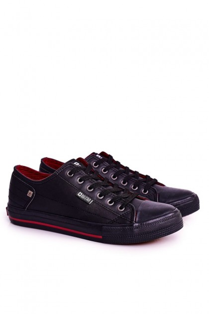 Men's Leather Sneakers BIG STAR DD174259 Black